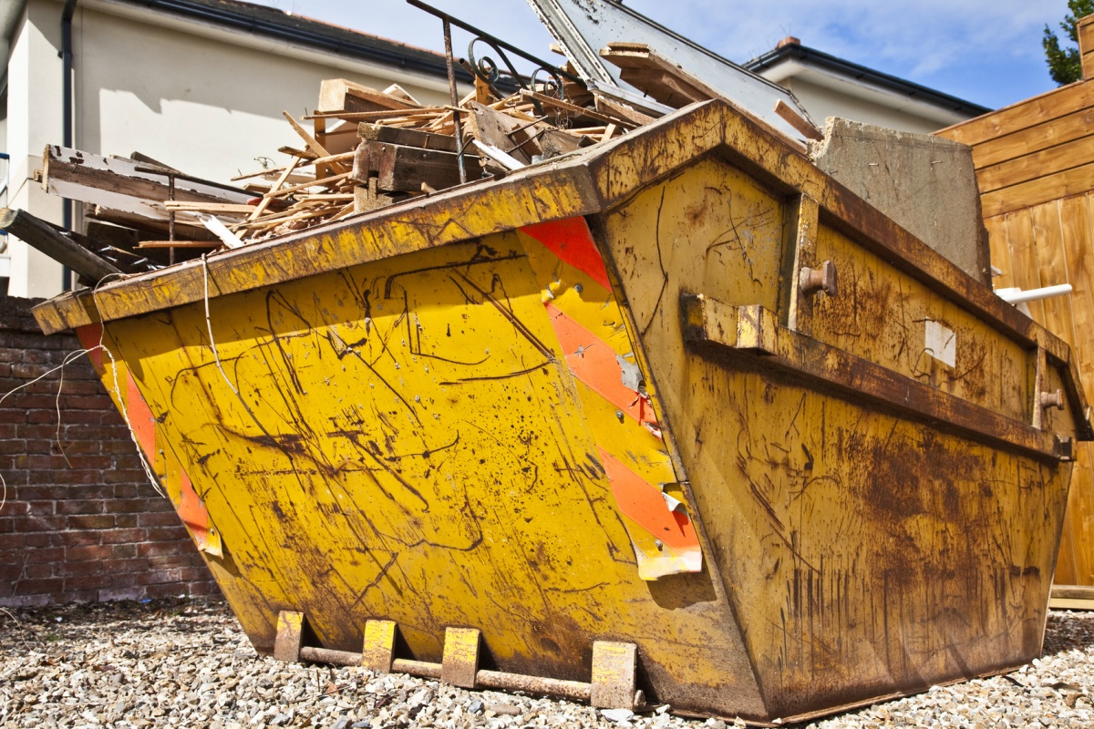 skip hire enfield